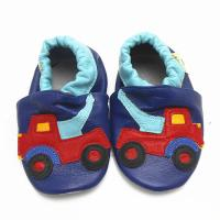 China cartoon leather soft sole baby shoes-8 on sale