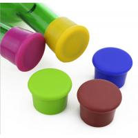 Wholesale Cute Promotional Gift Cap Shaped Silicone Red Wine Bottle Stopper/Silicone Cap Lid from china suppliers