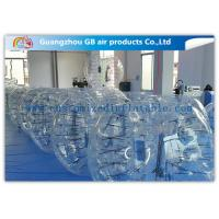 Wholesale Clear Giant Inflatable Hamster Ball Human Bubble Ball With Custom Logo Printing from china suppliers