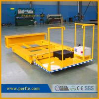Quality China manufacturer high quality steel plates flat pallet transfer trolley for sale