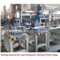 Buy cheap stainless steel ball valve ceramic valve core test machine from wholesalers