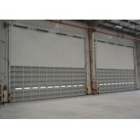 Wholesale Safety single sheet Aluminum Overhead Door , automatic metal sectional doors from china suppliers