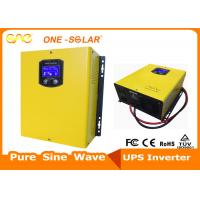 Quality 50 / 60Hz Off Grid Solar Inverter Online With UPS Function 220V 110V Wall Mounted for sale
