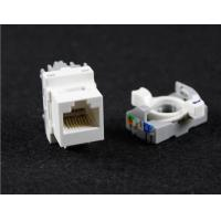 Wholesale Cat5e RJ45 UTP Rotate Tool - Less Type Modular Jack Keystone Jack Module from china suppliers