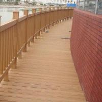Wholesale Environment-friendly WPC Fence with 10 Years Warranty, CE and ASTM Certified, Anti-slip from china suppliers