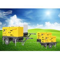 Wholesale 100Kva 3 Phase Trailer Mounted Diesel Generator Soundproof 50Hz Frequency from china suppliers