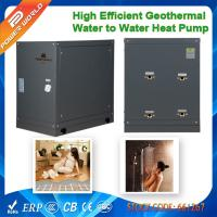 Wholesale Portable 8.2kw Mini Geothermy Water to Water Heater Pumps to Heated Floor or Residential Hot Water from china suppliers