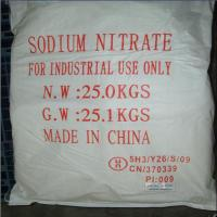 Wholesale NaNO3 99.3% from china suppliers