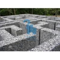 Wholesale Architectural / Geotechnical Stone Steel Gabion Baskets For Garden Paving from china suppliers
