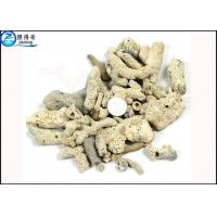 Wholesale Microporous Coral Live Sand Fish Aquarium Gravel With PH Value For Sea Water Tanks from china suppliers