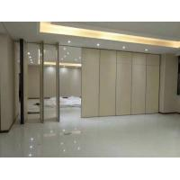 Wholesale Decorative Folding Wooden Soundproof Partition Wall Opening Style from china suppliers