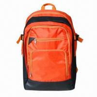 Wholesale Sports/ Paded Backpack, Bottom Section with PVC Coating Outer and Can be Better Waterproof  from china suppliers