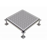 Wholesale Ventilation Rate 22% Steel Perforated Raised Floor  Standard Honeycomb from china suppliers
