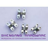 Cabinet Style Hidden Door Hinges , Single Action Invisible Heavy Duty Stainless Steel Hinges