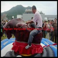 Wholesale spain inflatable mechanical Electrical Bull Bouncer rodeo cowboy rides from china suppliers
