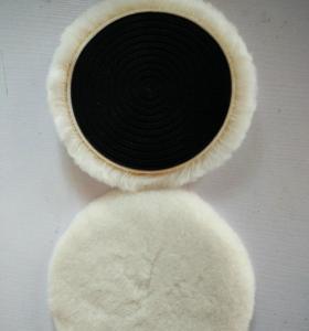 Wholesale Australian lambskin wool bonnet/car wool polishing buffing pad from china suppliers