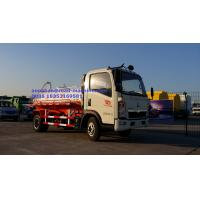 Wholesale Sinotruk Howo7 4 wheels 5-6CBM LHD 4X2 Sewage Vacuum Truck , Combination Sewer Cleaning Truck from china suppliers