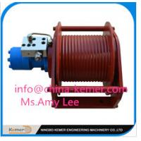Wholesale hydraulic winches/Hydraulic Winch For Construction Machinery 38KN Compact Winch 5KN to 600KN Hydraulic Winch Supplied from china suppliers