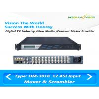Wholesale 12 Channel CATV Scrambler Wireless TV Multiplexer PCR Precise Adjustment from china suppliers