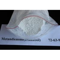 Quality CAS 72-63-9 Dianabol Methandrostenolone Muscle Building Steroids White Crystalline Powder for sale