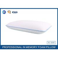 White Tencel Antimicrobial Ventilated Traditional Memory Foam Pillow