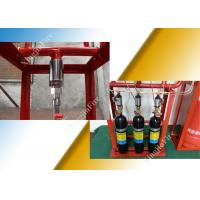Quality 4.2mpa Colorless FM200 Fire Suppression System 120L Storage Cylinders for sale