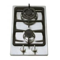 Buy cheap Stainless Steel 2 Burner Gas Hob Wind Proof , Double Burner Gas Cooker from wholesalers