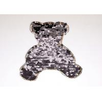 Wholesale OEM Custom Bear Sequin Beaded Appliques Epaulet for Clothes and Shoes from china suppliers