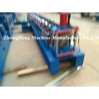 Wholesale 0.4 - 0.6mm thickness Half Round Gutter Forming Machine for Metal Downspout PLC control from china suppliers