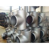 Wholesale SS316L SS310 Stainless Steel Weld Fittings , 904L  Sch10 - Sch160 Industrial Pipe Fittings from china suppliers