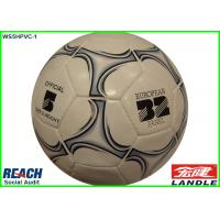 Wholesale 32 Sides Hand Sewn Training Soccer Balls Custom Printing Design inflatable footballs from china suppliers