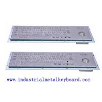 Buy cheap Washable Industrial Keyboard With Optical Trackball , Stainless Steel Keyboards from wholesalers