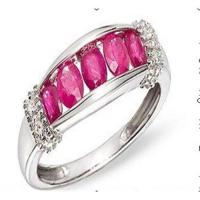 Wholesale Diamond & ruby ring from china suppliers