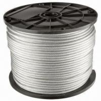 Wholesale Stainless Steel Wire Rope, Used for Elevator/Crane Lifting/Hanging Basket/Colliery Steel/Seaport from china suppliers