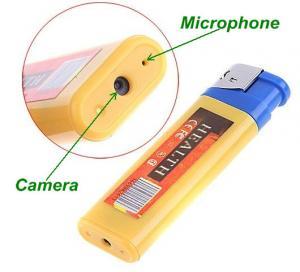 Wholesale Cigarette Lighter Mini TF DVR Spy Hidden Camera Portable Covert USB Audio Video Recorder from china suppliers