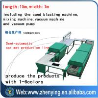 Wholesale soft and nice pvc foot mat making machine from china suppliers