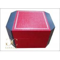 Wholesale Leatherette Paper Plastic Watch Box / Personalized Watch Box For Men from china suppliers