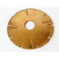 "Wholesale 4.5"" / 115mm Electroplated Diamond Disc Cutter Blades With U Slots For Circular Saw from china suppliers"