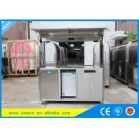 Wholesale Street Mobile Food Kiosk Stainless Steel Color Hotdog Food Cart from china suppliers