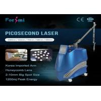 Buy cheap Powerful effective picosecond q switched nd yag laser picosure  pico laser for clinic from wholesalers