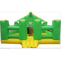 Wholesale Amusement Park Inflatable Mechanical Bull With Inflatable Mattress Green House from china suppliers