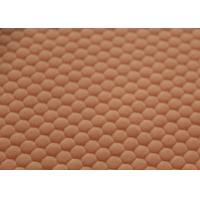 Wholesale 100% Cotton Orange Custom Fleece Fabric For Blanket Shrink - Resistant from china suppliers