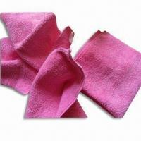 Wholesale Microfiber Face Towels, Nice Water Absorbent and Anti-static, Various Colors are Available from china suppliers