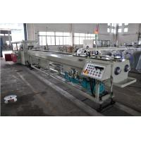 Wholesale High Output PVC Double Pipe Plastic Extrusion Equipment / Pipe Extruder Machine from china suppliers