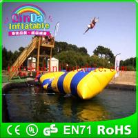 Wholesale water toys game aqua blob jump inflatable water jumping blob from china suppliers