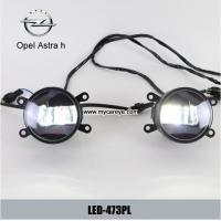 Wholesale Opel Astra h car front fog light LED DRL daytime running lights daylight from china suppliers