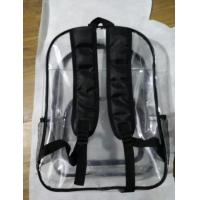 Wholesale Hot-selling High quality PVC Backpack Document bag, office File bag ,Fashion Schoolbag from china suppliers