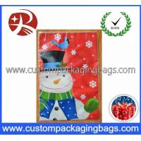 Wholesale OEM Exquisite Snowman Plastic Treat Bags Recyclable For Christmas from china suppliers