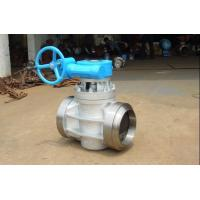 Wholesale PTFE Teflon Sleeved & Inverted Pressure Balanced Lubricated Plug Valve 316 from china suppliers