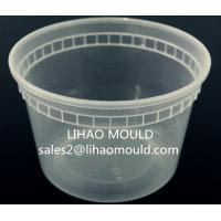 Wholesale thin wall disposable plastic injection pail mould from china suppliers